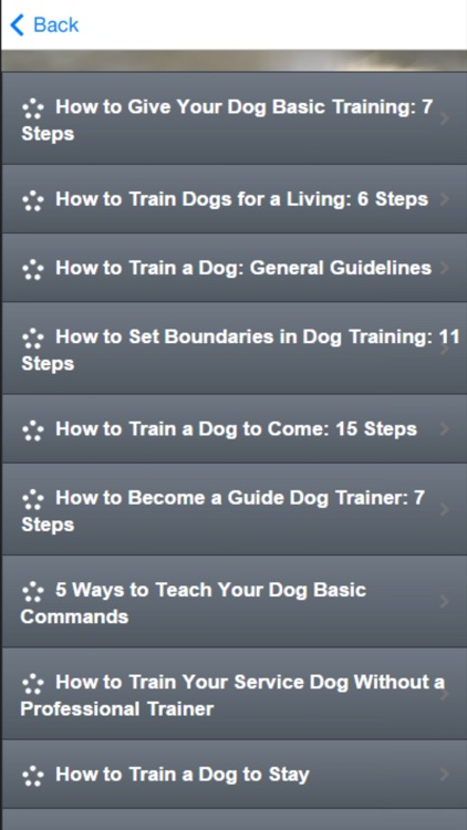 Dog Training - Learn How to House Train a Dog screenshot-1
