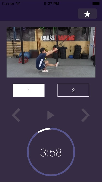 7 min Workout: Suspension Fitness Exercise Routine Trainer for Gym and Home Exercises – Force Hiit Training Workouts Center screenshot-4