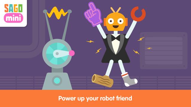 Sago Mini Robot Party Screenshot