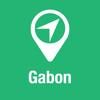 BigGuide Gabon Map + Ultimate Tourist Guide and Offline Voice Navigator