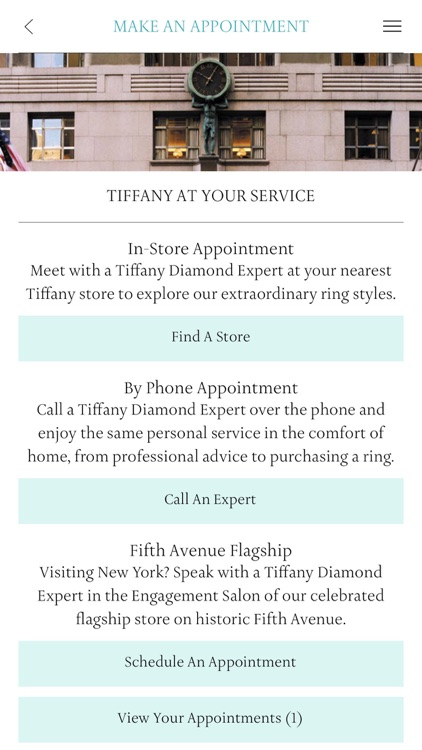 Tiffany & Co. Engagement Ring Finder screenshot-3