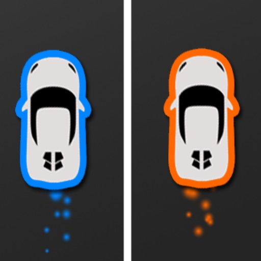Two Cars - Twins must Avoid Squares