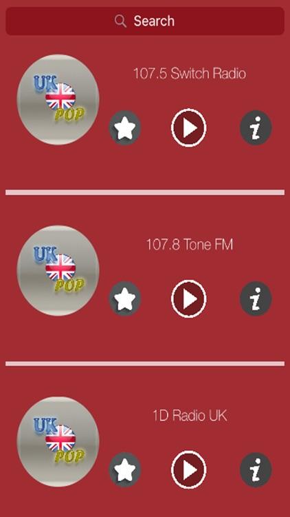 UK - POP Music Radio Stations (Best of POP)