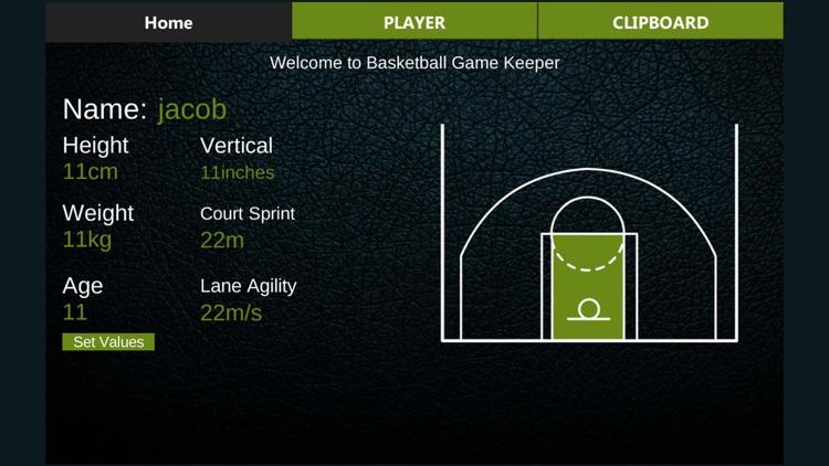 Basketball Game Keeper 2