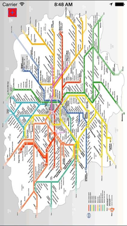 me 2 metro Paris underground screenshot-4