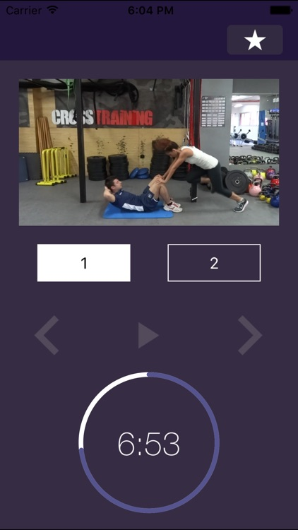 7 min Partner Workout: Couple Exercise Routine Ideas - Bootcamp Training Plan to Building the Perfect Full Body with Friends screenshot-3