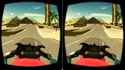 Screenshot #9 for VR Motorbike Simulator : VR Game for Google Cardboard
