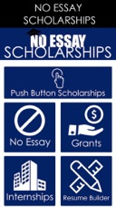 no essay scholarship push a button to apply on the app store screenshots