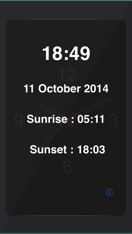 Perfect World Clock Widget