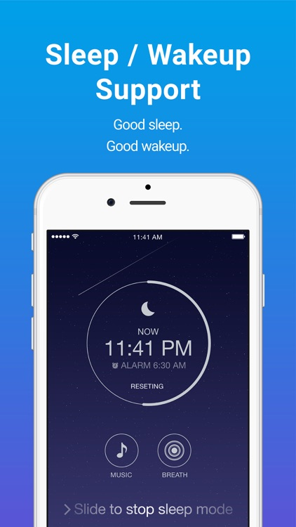 Sleepdays- Alarm clock for better sleep. screenshot-3