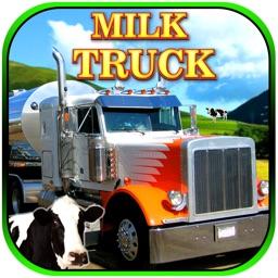 Dairy Farm Milk Delivery Truck