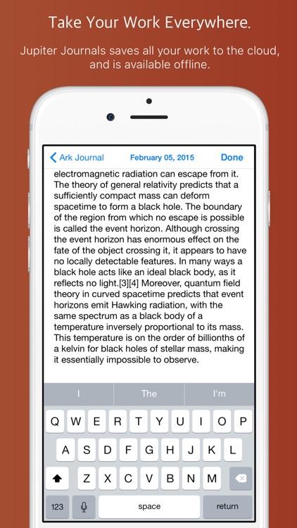 Jupiter Journals - Keep a Personal Journal screenshot-4
