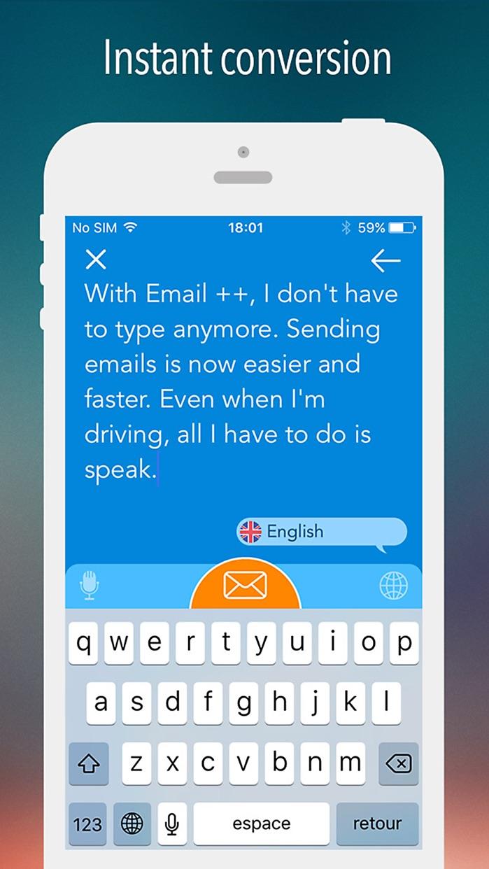Email ++ Screenshot