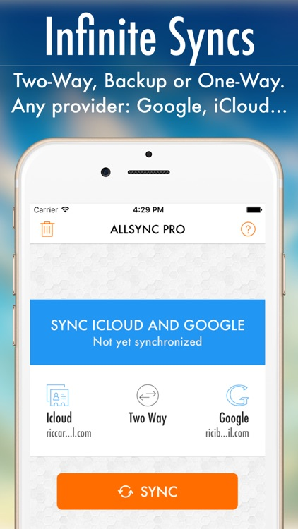 AllSync 2 - Rich Contacts Everywhere