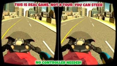 Screenshot #7 for VR Motorbike Simulator : VR Game for Google Cardboard