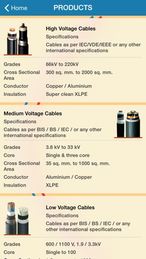 Cable size calculator on the app store greentooth Choice Image
