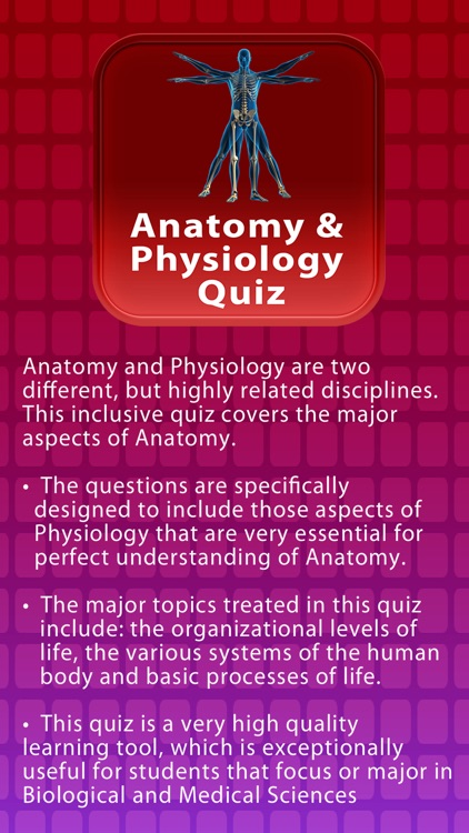 Anatomy & Physiology Review Quiz screenshot-0