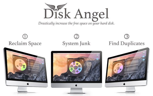 Disk Angel 3-in-1 Cleaner Space Saver & Duplicates Screenshot