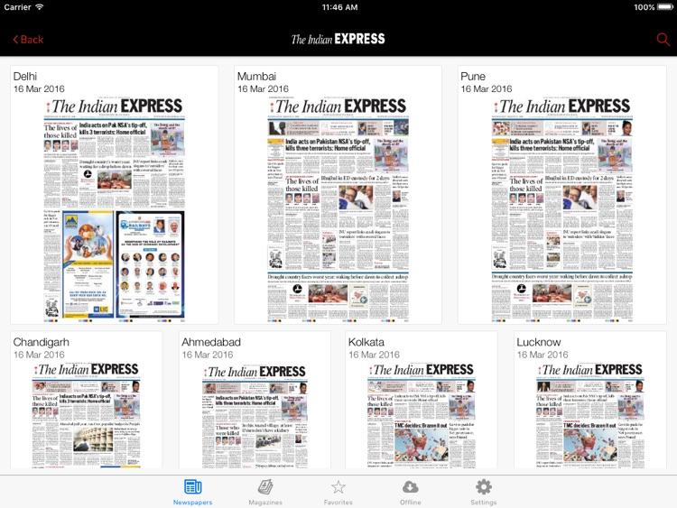 The Indian Express for iPad screenshot-3