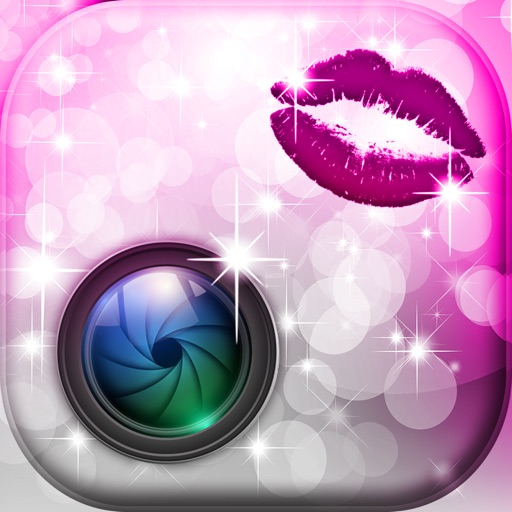 Beauty Photo Studio for Glam Girls - Make a cute Scrapbook with Glittery Captions and Stickers