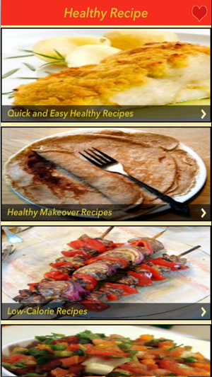 3000 healthy recipes on the app store screenshots forumfinder Image collections