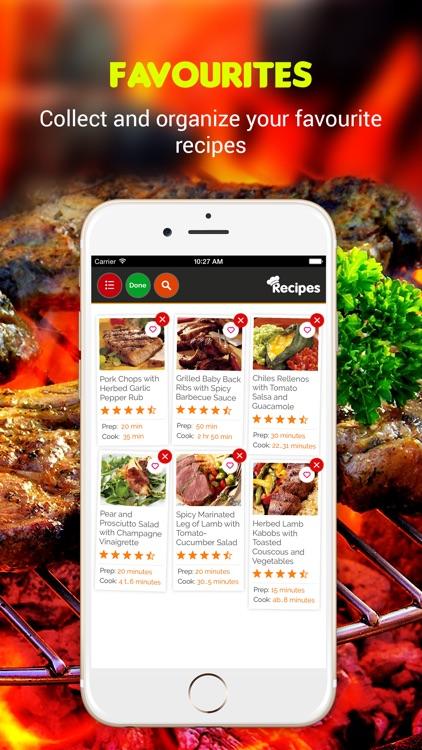 Yummy Grill Recipes Pro screenshot-3