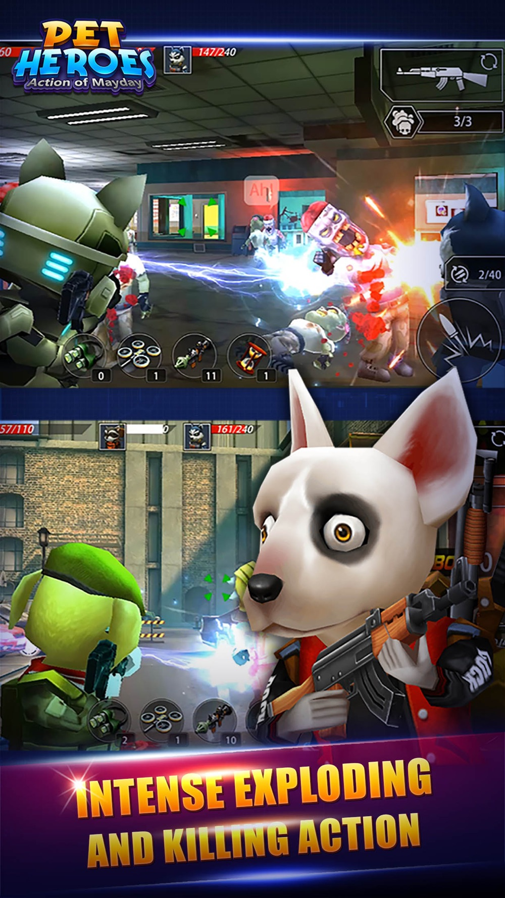 Action of Mayday: Pet Heroes hack tool