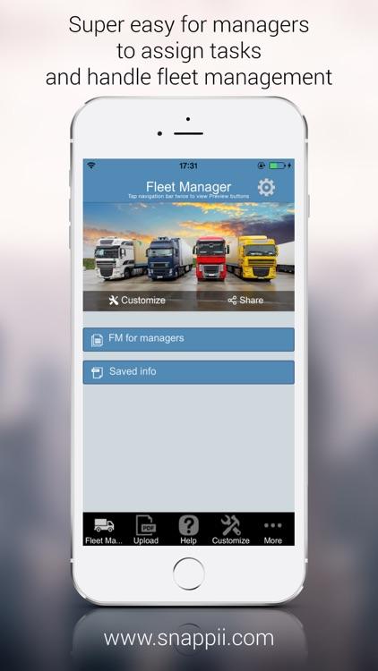 Fleet Management App