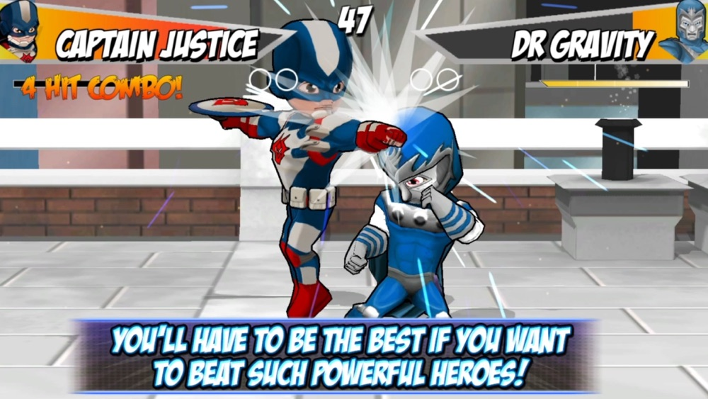 Superheros 2 Free fighting games Cheat Codes