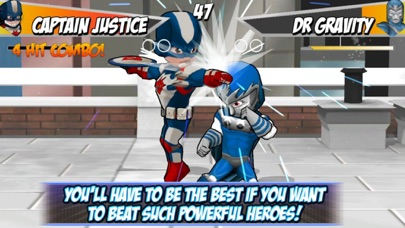 Superheros 2 Free fighting games Screenshot on iOS