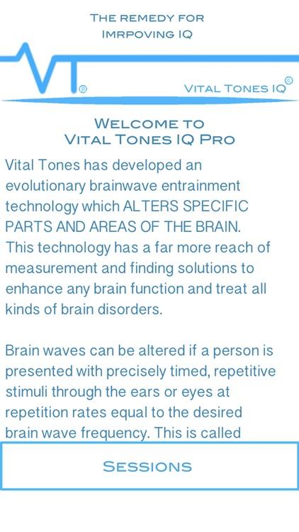 Vital Tones IQ Pro
