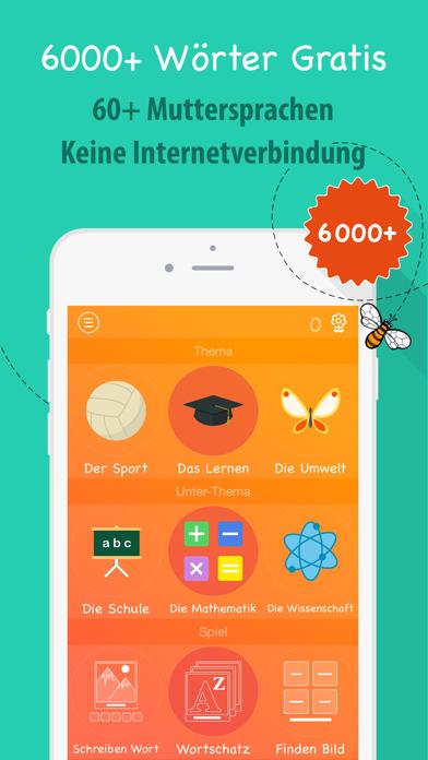 6000 Wörter - Spanische Sprache Lernen - KostenlosScreenshot von 1