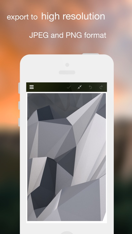 Polygon : create beautiful polygon artwork screenshot-3