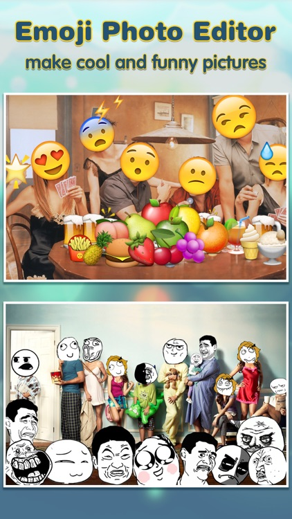 Emoji.s Photo Editor Pro - Add Funny Cool Emoticon Sticker.s & Smiley Face.s to Your Picture