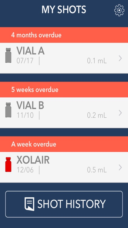 Visionary Allergy Tracker