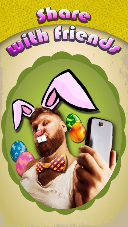 Easter Bunny Yourself Pro - Holiday Photo Sticker Blender with Cute Bunnies & Eggs screenshot-4