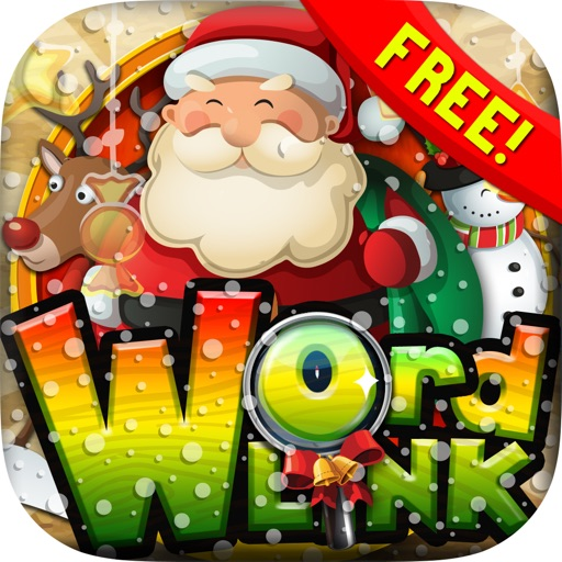 Words Link : Merry Christmas ( X'Mas ) Search Puzzles Game Free with Friends