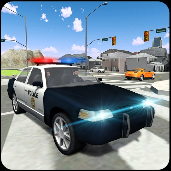 Police Car Driver 2016 - 3D Chase and arrest cars violating traffic rules