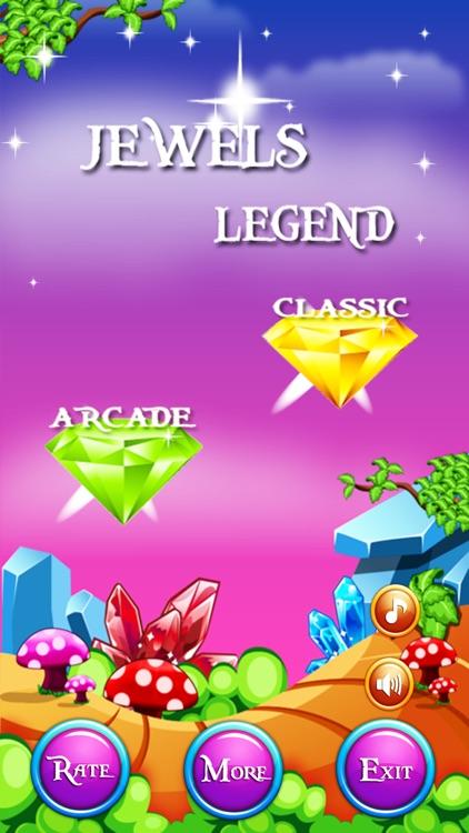 Jewels Legend : Jewel Advanture screenshot-3