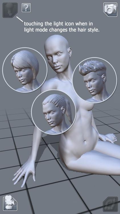 ArtPose Female Edition screenshot-4