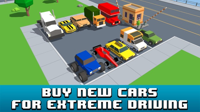 Smashy Car Race 3D: Pixel Cop Chase on the App Store
