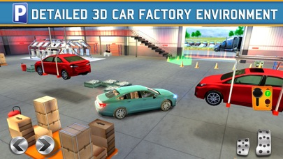 Car Factory Parking Simulator a Real Garage Repair Shop Racing Gameのおすすめ画像3