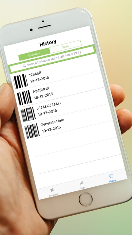 BarCode ToolBox: Bar code, Data Matrix, QRcode generator & reader to generate, share and save it. screenshot-4
