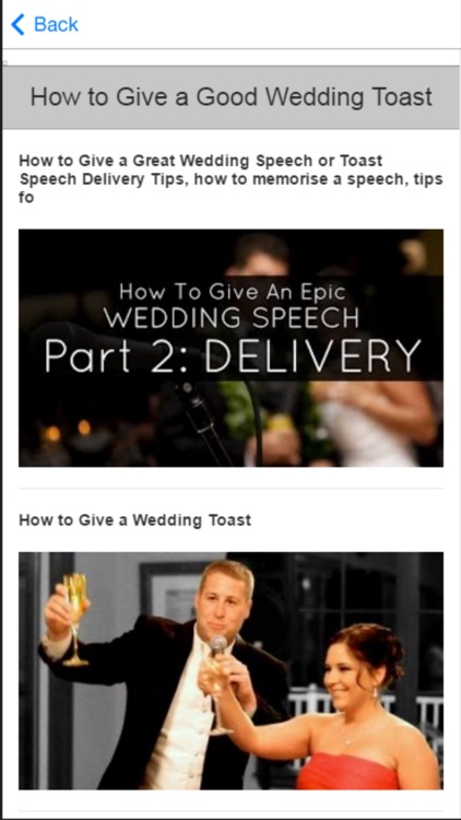 Wedding Tips - Learn to Plan Your Perfect Wedding screenshot-4
