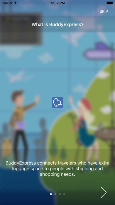 BuddyExpress™ - Social Shipping screenshot one