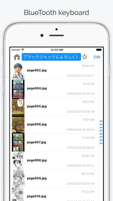 ComicShare - eBooks Reader Screenshots