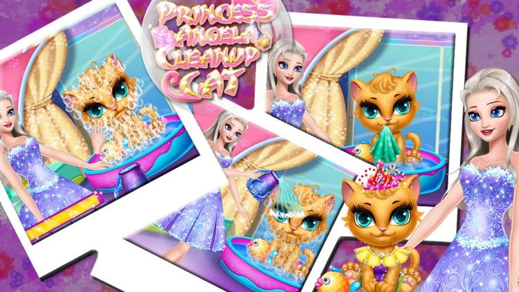 Princess Angela Clean up Cat screenshot-3