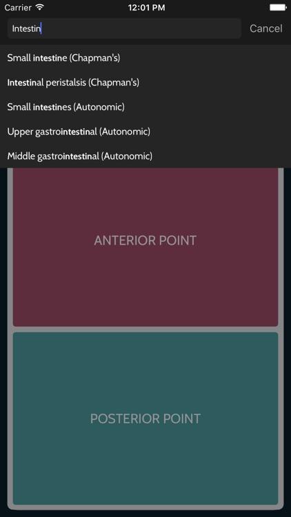 OMM Cards: Chapman's Reflexes & Autonomics screenshot-4