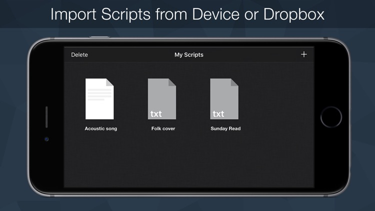Teleprompter Pro - Script, Speech and Lyrics Prompter +