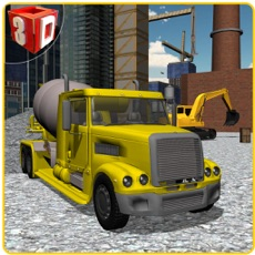 Activities of Concrete Excavator Simulator – Operate crane & drive truck in this simulation game